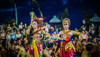 Viajes a Indonesia - Bali Baile Tradicional