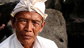 Viajes a Indonesia - Hombre Balines