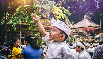 Viajes a Indonesia - Bali Niño