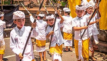 Viajes a Indonesia - Bali Niños