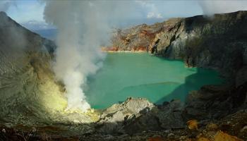 Viajes a Indonesia - Volcan Ijen